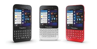 Harga dan Spesifikasi Handphone Blackberry Q5