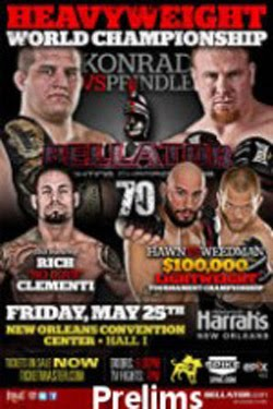 Bellator Fighting Championships 70 Preliminaries (2012)