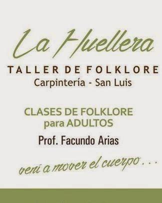TALLER DE FOLKLORE- LA HUELLERA