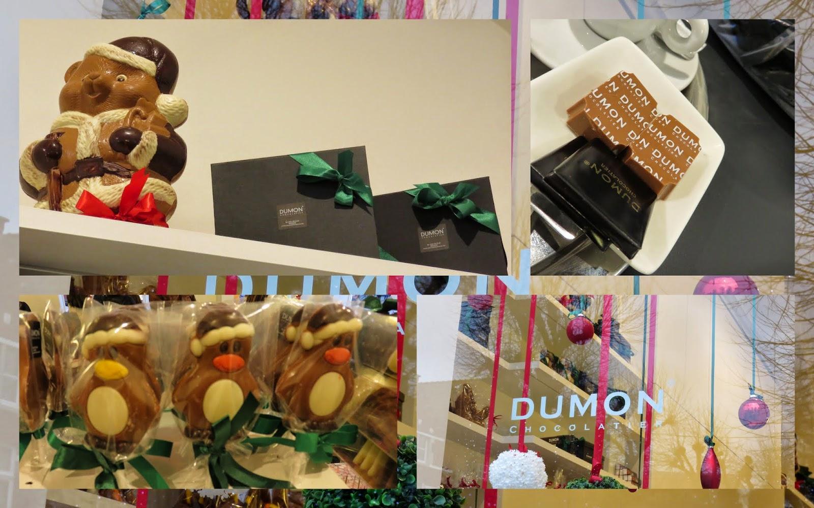 Chocolates at Dumon in Bruges