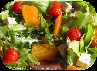 salade potiron