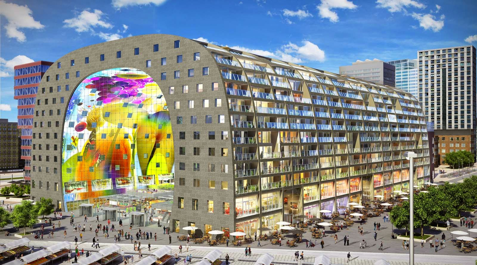 Coming soon: Markthal Rotterdam!