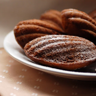 Gluten-Free Chocolate Madeleines