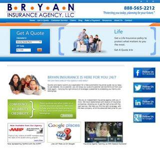 Bryan Insurance Agency Homepage