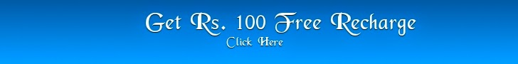 Free Rs. 100 Recharge