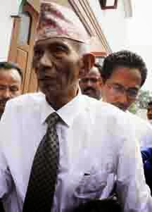 Subhas Ghisingh better discharged from hospital