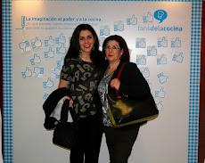 Mamá y yo en el Evento Megustación 2011