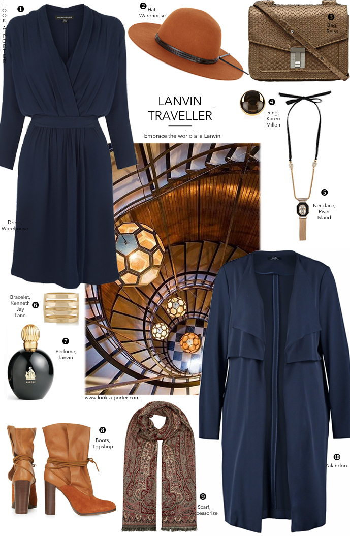 Via Look-A-Porter.com / designer look for less / outfit idea inspired by Lanvin Fall Winter 2015 collection / Lanvin outfit styled with high street pieces