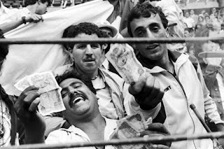Aficionados argelinos Alemania Austria 1982