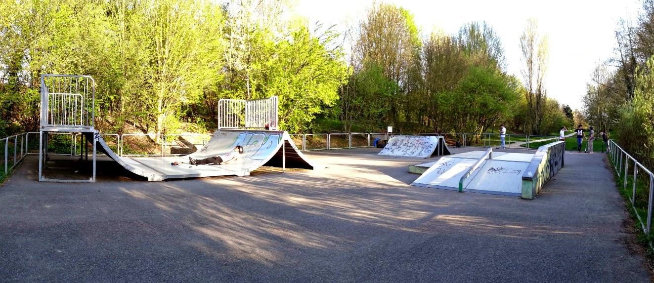 Skatepark Antony panoramique