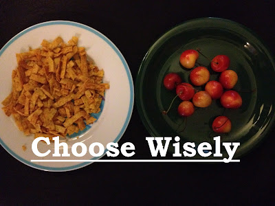 choose wisely - photo by rebecca rider at newmommabeckers.com