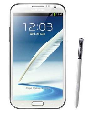 Samsung Galaxy Note II Blanco Tienda Claro Perú