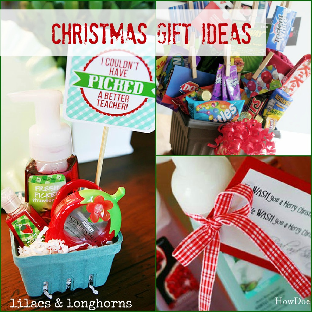 here are easy thoughtful christmas gift ideas that could work for friends teachers family or hosthostesses gifts for anyone