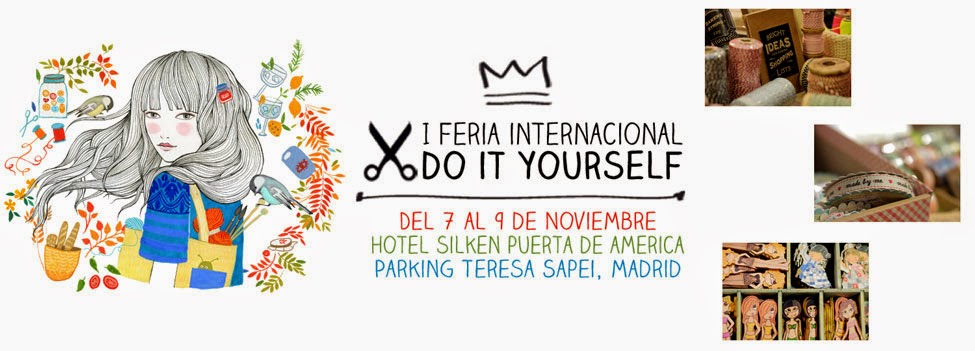 I Feria Internacional Do It Yourself en Madrid.