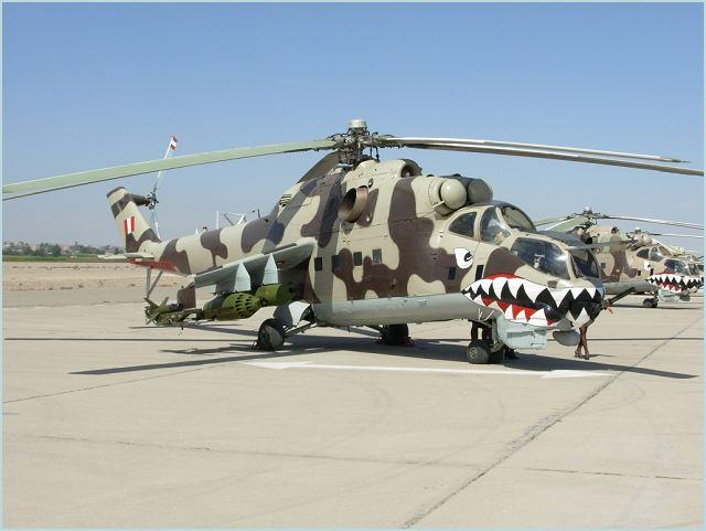 mil mi 25 hind d hélicoptères d attaque