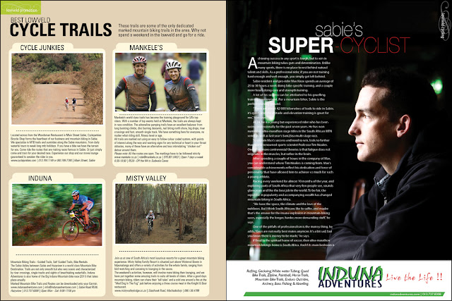 issue 32 - cycling guide - lowveld living magazine