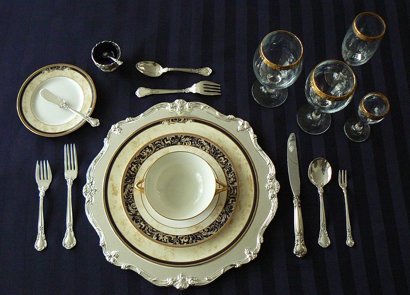 Dinner Table Setting Proper Setting : Mark Cutler Design: How to Set a Table