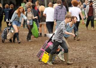 Latitude Festival Mud