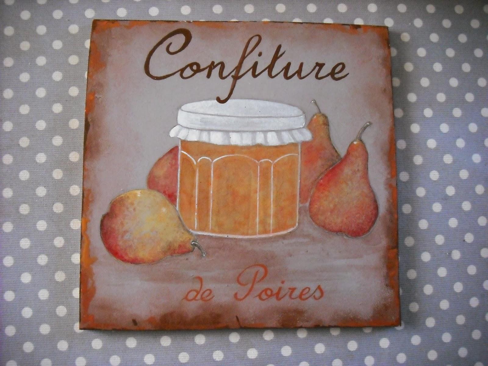 Petites peintures de confiture esprit campagne cours for Patine peinture acrylique