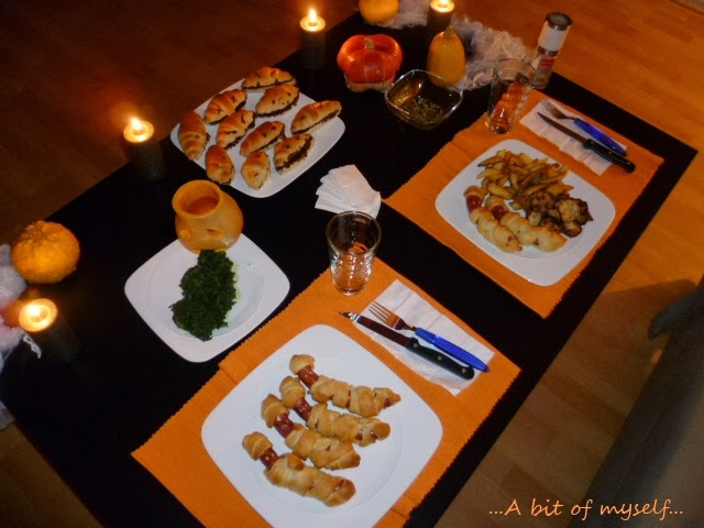 a quick and easy halloween dinner