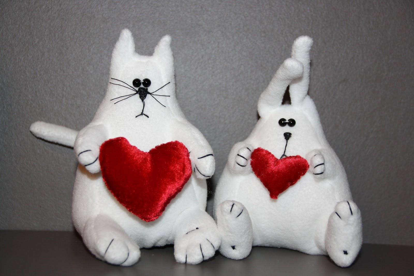Игрушки своими руками в день святого валентина