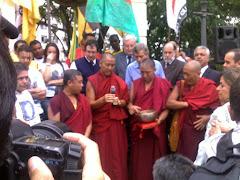 Bençãos da tradição budista  tibetana