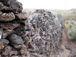 Wall of Tears Isabela Island, Galapagos