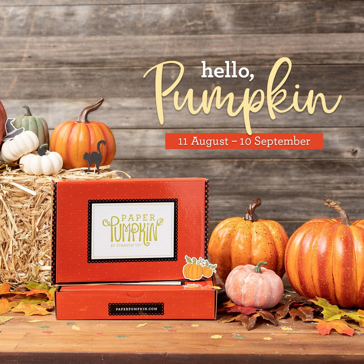 Paper Pumpkin - September Sub Box