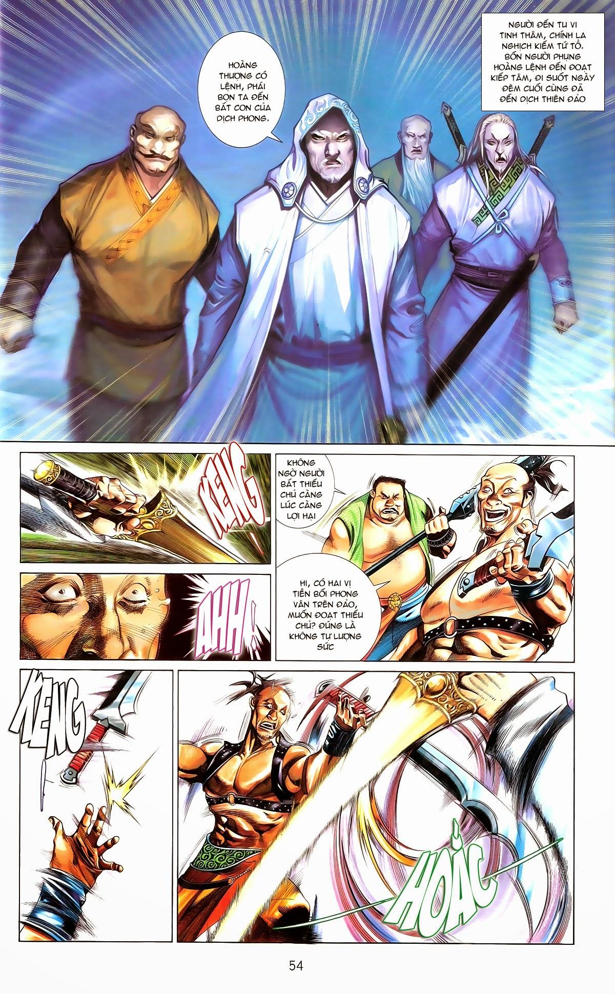 Phong Vân chap 672 Trang 54 - Mangak.info