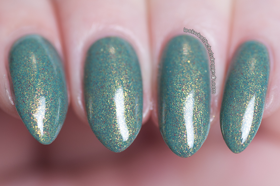 Swatch and review of Illamasqua Melange nail polish from the Once Collection.