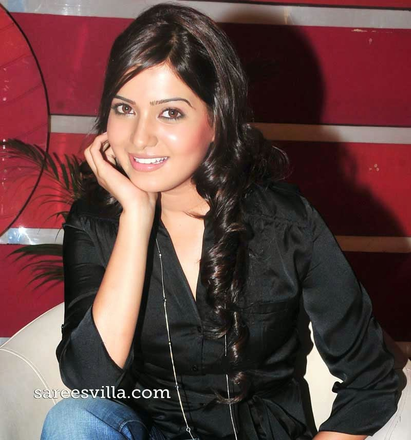 Samantha in Layered Hairstyle