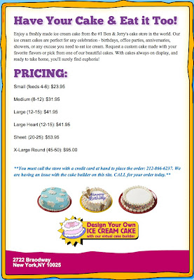 Ben And Jerry S Design Your Own Cake : DownWithTyranny!: When your local scoop shop canot even ...