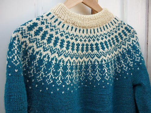 Knitting Patterns For Nordic Sweater : Clara Stickar: Planerar en kofta