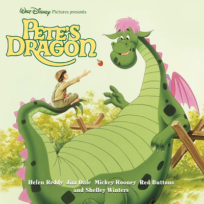 Pete's Dragon review album cover art Disney soundtrack LP iTunes