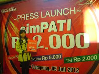 Telkomsel Launching Promo simPATI Serba 2.000