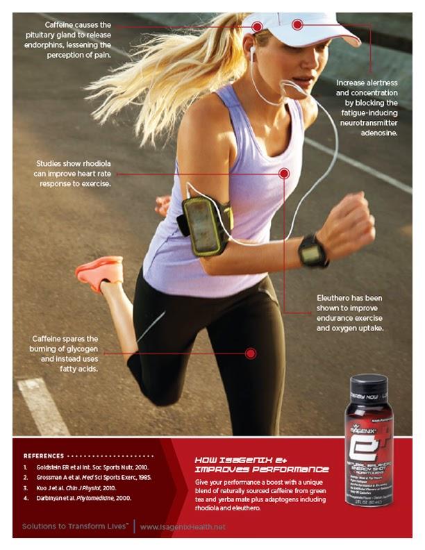 caffeine, exercise, isogenix, isagenix cleanse