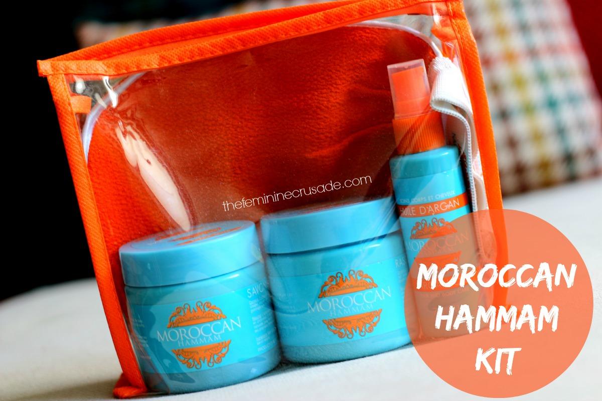 Moroccan Hammam Kit