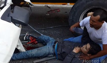 Brutal Accidente en el Salvador