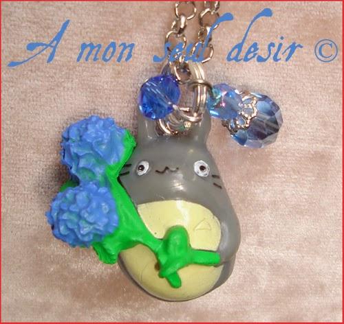 Collier Mon Voisin Totoro Bijou Studio Ghibli Hayao Miyazaki Manga Necklace Japanimation Jewellery