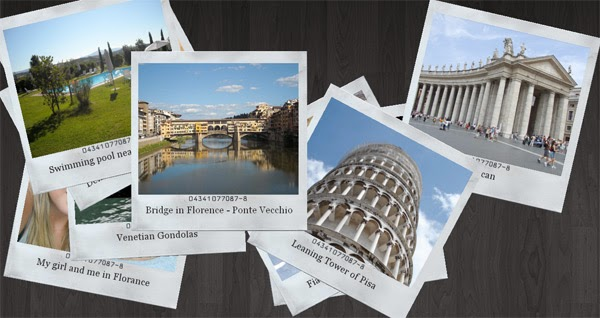 A polaroid photo viewer with CSS3 and jQuery