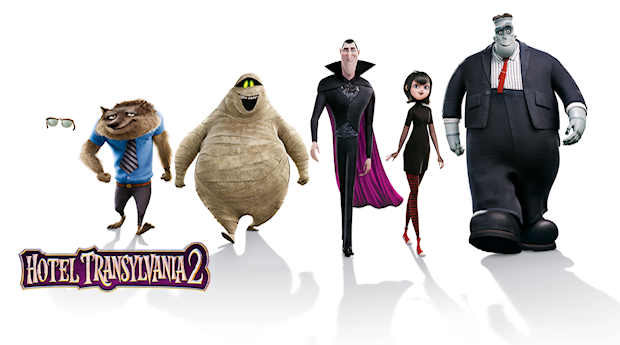 Drac's Pack Is Back In A New 'Hotel Transylvania 2' Poster