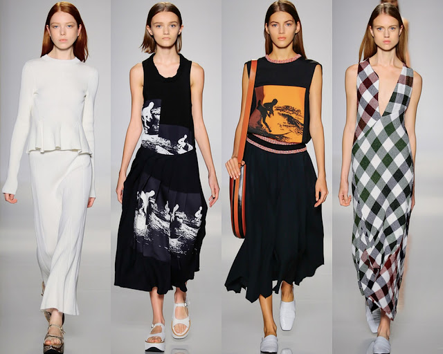 Victoria Beckham SS16 by What Laura did Next
