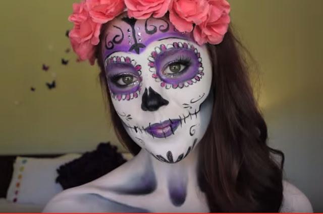 how to muertos makeup