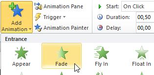 Menambahkan Animasi Masuk di Powerpoint