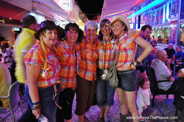 Hen Night Old Town Albufeira Algarve Portugal