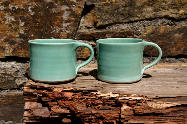 Copper Cups by Ardmore Pottery, image by Sarah Lincoln