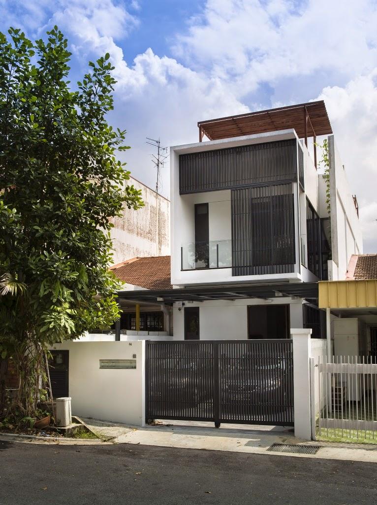 Rumah Minimalis di Lahan 6x21 Meter