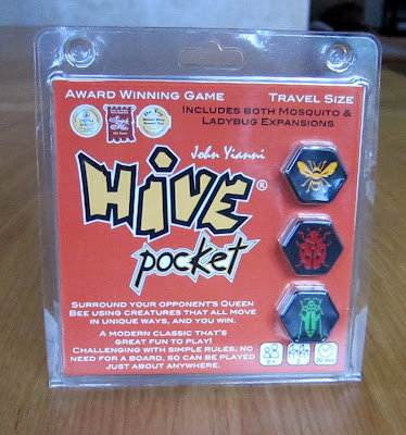 Hive Pocket - The game packaging