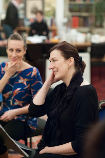 Fantasio: Brenda Rae and Sarah Connolly in rehearsal - credit Russell Duncan