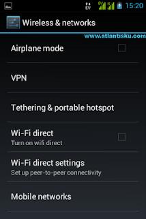 Setting GPRS MMS Samsung Galaxy
